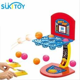 Wholesale Toys Basketball Board - Montessori toys for children Mini basketball shooting board game learning education educational desktop toys marble game