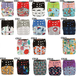Wholesale thanksgiving cloth diapers - [Sigzagor]Bamboo Charcoal Baby Cloth Diaper Nappy Pocket Washable Dual Openings Double Leg Gussets