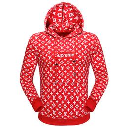 Wholesale Baseball Standards - Newest Men's Red Warm Hoodies Winter 2018 Cotton-padded Baseball Cothes Men Long Sleeve Warm Cotton-padded sweatshirt Jacket Tops