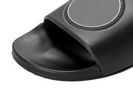 Wholesale Floor Mop Brands - New product hot brand Men Beach Slide Sandals Medusa Scuffs 2018 Slippers Mens Beach Fashion slip-on designer sandals