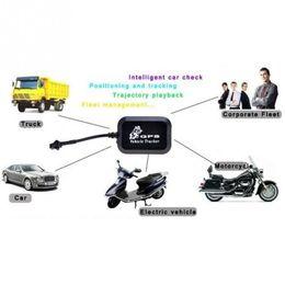 2019 caja dvb t2 Localizador anti-robo del kit LBS del coche del tiempo real, mini perseguidor GT005 del vehículo / de la motocicleta del vehículo Localizador GSM / GPRS / GPS