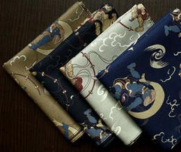2019 desenhos de bolsos Lenço De Algodão de alta Qualidade Vento Deidade Design Moda Estilo Japonês Ladies Lenços 52 * 52 cm Quadrado De Bolso desconto desenhos de bolsos