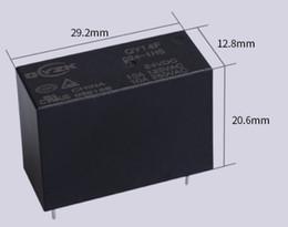 2019 relè di potenza in miniatura Accessori elettronici Forniture Relè di potenza da 4 piedi 24v0.45W Relè di potenza Relè 10A250VAC