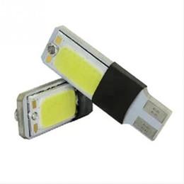 Ultra Brillante COB T10 W5W Lámpara LED de Decoración de Coche DC12V Decodificación Espacio de Ancho Luz de Luz de Funcionamiento Diurna Lámpara de Estacionamiento desde fabricantes