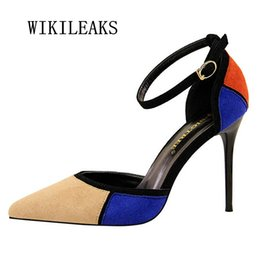 2019 chaussures wedge mary jane rouge stiletto ladies chaussures chaussures à talons hauts chaussures femme pompes mary jane robe chaussures de mariage zapatos mujer escarpins femme 2018 chaussures wedge mary jane pas cher