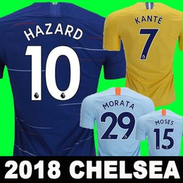 Thailand AAA HAZARD JORGINHO soccer jersey 2019 MORATA RUDIGER GIROUD jersey 18 19 KANTE Willian jersey 18 19 football kit shirt Camisetas