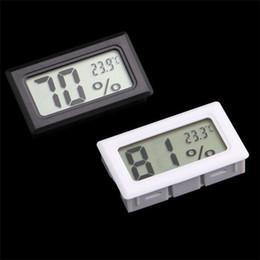 Canada Mini LCD Numérique Environnement Thermomètre Hygromètre Humidité Température Compteur Dans la chambre Réfrigérateur Glacière Thermomètres supplier room humidity meter Offre