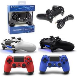 Canada PS4 contrôleur de jeu sans fil pour PlayStation 4 PS4 contrôleur de jeu Gamepad Joystick Joypad pour jeux vidéo avec boîte de détail Offre
