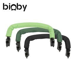Wholesale Horizontal Baby Carrier - Wholesale-Stroller Armrest Handlebar 31-35CM Generic Grip Bumper Bar for Carriage Baby Carriers Accessories Baby Stroller Armrest