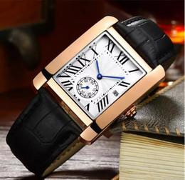 relógio homens negócios homens genebra Desconto 2019 top marca de moda dos homens relógios Genebra relógio dos homens de negócios de moda cinta de couro duplo dial relógio de quartzo relógios reloj hombre