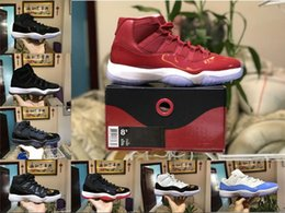 Wholesale B Threads - With Original Box air retro 11 Gym Red Chicago PRM Heiress Win like 82 96 Mens Basketball Shoes 11s Athletic Trainers Sport Sneakers