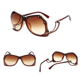 d82a790556a 2018 New Avant-garde Polarized Sunglass Reversed Strange Shape Unisex Sunglasses  Modern Design UV Protection Eyewear Fashion Sunglasses