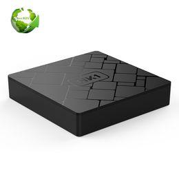 Android 7.1 TV BOX, HK1 Smart TV BOX 2GB 16GB Reproductor de Medios Amlogic S905W Quad Core Wifi 4K Internet TV Decodificador OEM ODM desde fabricantes