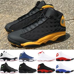 innovative design 6c1b7 77815 Melo Class of 2002 13s Herren-Basketballschuhe 13 Er hat Spielhöhe Schwarze  Katze Chicago Playoff Phantom Hyper Royal Sports Sneakers 7-13