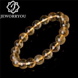 2019 cuentas de cristal de rubí natural 6-10 mm pulsera citrino brazalete citrino cristalino amarillo pulseras para las mujeres pulseras mujeres perlas encantos joyería bilezik