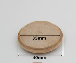 Wholesale Stairs Cover - 40mm*35mm wooden stairs decorative cover   screw   Wood staircase covers cover hole wood furniture accessories