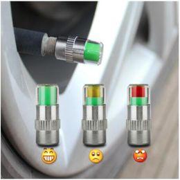 Argentina 4PCS 2.0Bar 30PSI Car Auto Monitor de presión de neumáticos Válvula Tapas de vástago Sensor Indicador Eye Alert Kit de herramientas de diagnóstico Suministro