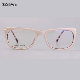 ec0e7c3e92 Fashion High quality glasses frame for computer Prescription myopia Women  Glasses Eyeglasses Goggles Khaki round eyewear cat eye