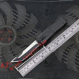 facas de borboleta flail Desconto Mais recente faca automática A07 A161 616 2 modelos de dupla ação Caça Faca de Bolso Faca de Sobrevivência Dobrável Caça Faca de presente de Natal para m