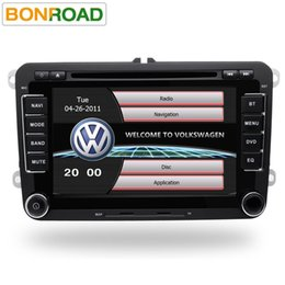 """Wholesale india gps maps - Bonroad 7"""" Capacitive Touch Screen 2 Din Car DVD Player for VW with Radio RDS Bluetooth GPS USB TF Card 1080P Video Free Map"""