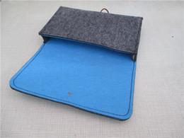 Wholesale Felt Laptop Cover - Wool Felt Laptop Sleeve Case Bag for 7 Inch GPD Pocket Windows 10 System UMPC Mini Laptop Protective Cover
