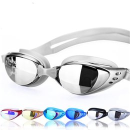 7a130f979d3 6 Colors Adult Prescription Optical Swimming Goggles Swim Silicone Anti-fog  Coated Water diopter Swimming Eyewear glasses mask