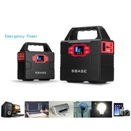 Generatore portatile di energia solare online-Uso domestico Generatore portatile ad alta potenza Generatore solare 40800mA Banca di emergenza automatica per auto con manico di visualizzazione