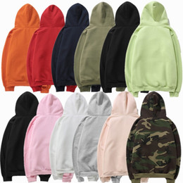 Wholesale Mens Jackets Designs - Size S to 2XL Super Quality New Brand Design Mens Womens Hoodies Sweatshirts Warm Fleece Copule Hooded Pullover Jacket Coat With Hat