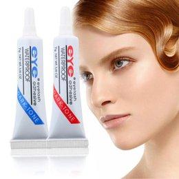 Wholesale individual eyelashes glue - New Professional Eyelash Glue Adhesive Lash Extension Anti Sensitive Hypoallergenic Waterproof Individual False Eye Lashes Glue