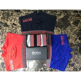 c21f4f7cbb4fdd Fashion comfortable sexy underwear for men letter print mens designer  boxers new cotton