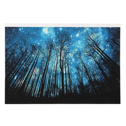 Wholesale Cartoon Stitch - Diamond Paintings Creative Night Sky Cross Stitch DIY Round Living Room Decoration Craft Gift 7lx C R