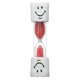 fern-portable alarm Rabatt Zahnbürste Timer Sanduhr Kids Smiley Sand Egg 3 Minuten 1St
