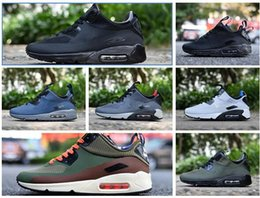 Wholesale Branded Trainers - Wholesale New arrival top quality sport cheaper air mens running shoes brand fashion men trainers 90 ULTRA 2.0 ESSENTIAL sneakers