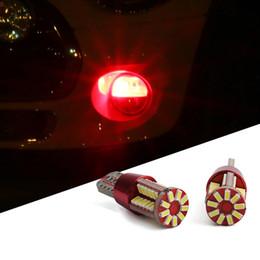 2019 luz de tejadilho de emergência âmbar 12v 2 PCS DC 10-15 V T10 CONDUZIU a Lâmpada 5730SMD Luz Interior Do Carro Signal Porta Auto Largura Luz Para Mini COOPER F56 F55 Acessórios