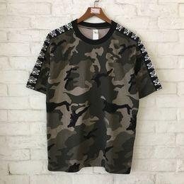 6f202cb7e 2019 militar camiseta camiseta 2018 camuflaje Gobal envío impresos mujeres  hombres camisetas camisetas Hiphop Streetwear Camo