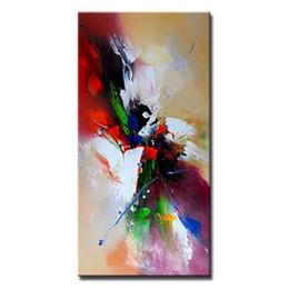 крутые картины абстрактного искусства Скидка Mintura 1 шт. картина маслом с 100% ручная роспись на холсте для гостиной-абстрактный европейский стиль холст Flash 7 размер