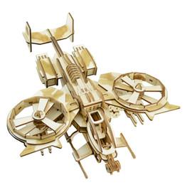 DIY 3D Ahşap Bulmaca Modeli Oyuncak Akrep Fighter Woodcraft Çocuklar ve Yetişkinler için Sanatsal Ahşap Educatio Bulmacalar Kiti nereden akrep kitleri tedarikçiler