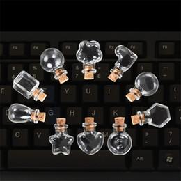 Mini Botellas de vidrio Colgantes Pequeñas Botellas de Bricolaje Con Cork Diy Frascos lindos Regalos de Boda de Navidad Viales Botellas 100 unids Envío Gratis desde fabricantes