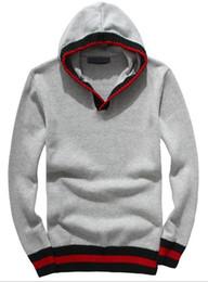 Вышивка рукав вязать свитер онлайн-горячие продажи Мужские свитера для отдыха роскошные вышивки свитер высокое качество свитера с длинным рукавом пуловер вязание свитер сплошной цвет рубашки