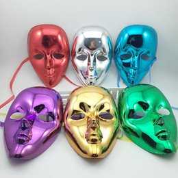 2019 mascarilla completa de venecia Mujeres de la manera Señora Máscara Facial Mascarada Bola de Halloween Carnaval Venecia Plating Party Máscaras Envío Gratis ZA6887 mascarilla completa de venecia baratos