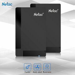 Wholesale Disco Usb - Original Netac K218 External Hard Drive 500GB 1TB HDD USB 3.0 Externo Disco HD Disk Storage Devices for Laptop Desktop Hard Disk