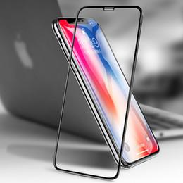 Wholesale iBaby888 pour iPhone XS Max XR X Plus Film de protection d écran en verre trempé D à pleine couverture anti déflagrant HD