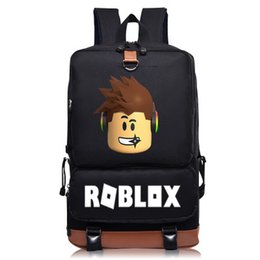 game sell phone Promo Codes - HOT-selling printing Roblox Games Backpacks Teenage Girl Backpack Student School Bag men Computer bag women shoulder travel