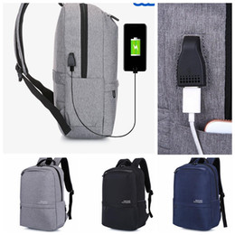 Wholesale Gifts Teenage Girls - Casual Women Backpack USB Backpack 16 inch aptop Backpacks For Teenage Girls Gift anti-theft schoolbag LJJK924