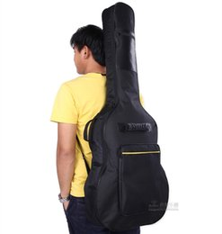 Wholesale Dual Use Bag - KINGSLAND 41-inch acoustic guitar package thick custom made guitar bag guitar backpack hand carry dual use FSGT-F1