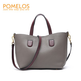 POMELOS Women Bag Luxury Brand Purses And Handbags Shoulder Bag Genuine  Leather 2018 New Style Ladies Purse Tote Bag Hand Woman 68a88d2fbf