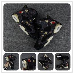 Wholesale Chinese Yellow - With box Air Retro 6 Chinese New Year CNY Gatorade basketball shoes 6s VI UNC Alternate Golden Harvest Men Sports Shoes Top quality Trainer