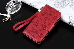 Wholesale Embossed Wallets - For iPhone 7 7plus Fashion Luxury Designer H Type Embossed Leather Flip Wallet Case for iPhone X 8 8plus 6 6s Plus With Wallet Credit Card C