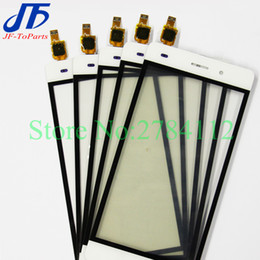 huawei сенсорное стекло Скидка 10Pcs Touch Panel replacement For Huawei P8 Lite 2016 / P8Lite 2017 Touch Screen Digitizer Glass white black gold colour