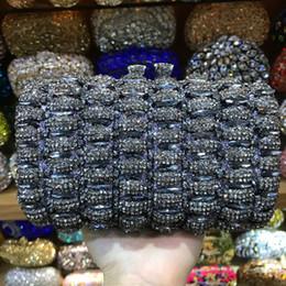 2020 свадебные кошельки New Design Ladies  solid Crystal sier red Evening Bags Women Wedding black Clutches Purses Girls Day Clutch Party Bag дешево свадебные кошельки